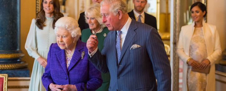 """FILE: The queen's statement said the charge of racism was 'concerning' and would be """"taken very seriously"""", but added that it would be 'addressed by the family privately'. Picture: AFP"""