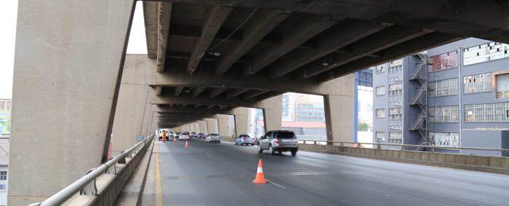 The double-decker bridge on the M1 freeway. Picture: Christa Eybers/EWN