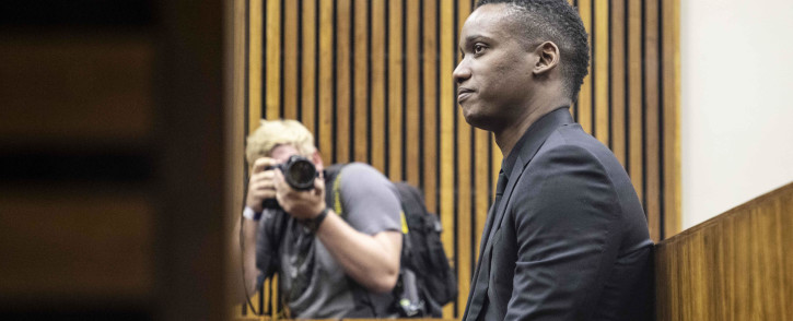 FILE: Duduzane Zuma in the Randburg Magistrates Court on 26 March 2019 for the start of his culpable homicide trial. Picture: Abigail Javier/EWN