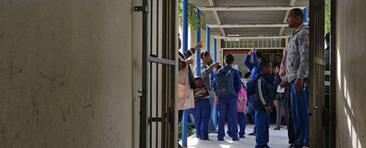 Pupils in Lavender Hill are constantly affected by gang violence in the area. Picture: Aletta Gardner/EWN.