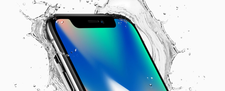 FILE: The iPhone X. Picture: apple.com