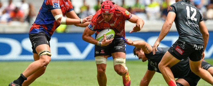 The Emirates Lions beat the Sharks 19-14 in a pre-season warm up in Cape Town on Sunday. Picture: Twitter/@LionsRugbyCo
