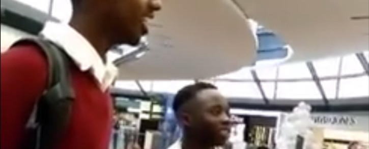 An Apple store in Melbourne kicked out three black teens, citing that shoppers were worried the trio were going to steal. Picture: Screengrab.