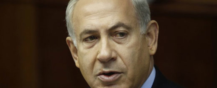 """Rupert Murdoch has apologised for a """"grotesque"""" cartoon in his newspaper depicting Israeli Prime Minister Benjamin Netanyahu building a bloody wall trapping the bodies of Palestinians, after complaints from Jewish groups. Picture: AFP"""