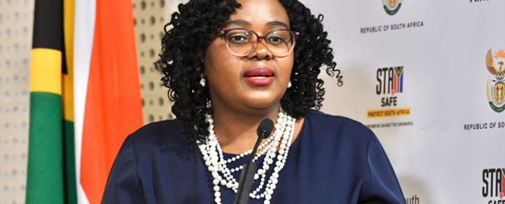 Tourism Minister Mmamoloko Kubayi-Ngubane. Picture: @Tourism_gov_za/Twitter