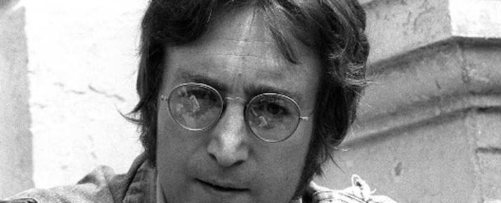 FILE: Music legend John Lennon in Cannes on 17 May 1971. Picture: AFP.