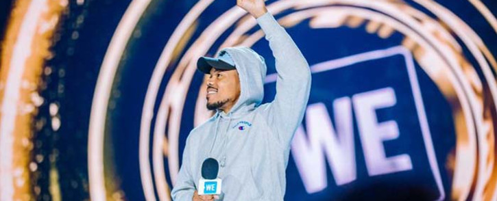American rapper Chance the Rapper revealed to James Corden that he has close connections with the former US President Barack Obama as well as music royalty Jay-Z and joked they are quite similar to contact. Picture: @chancetherapper/Twitter.
