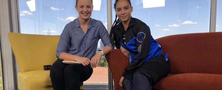 EWN On The Couch caught up with National Boxing Champion Gabriella Drewery as she chats to Cato Louw. Picture: Bertram Malgas