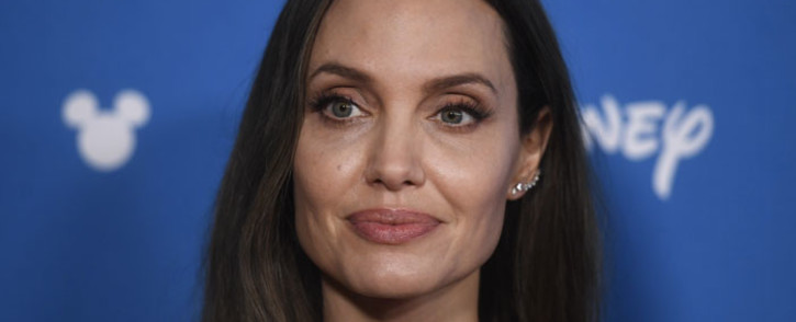 Angelina Jolie attends the Disney,D23 expo Go Behind The Scenes With Walt Disney Studios at Anaheim Convention Center on 24 August 2019 in Anaheim, California. Picture: AFP