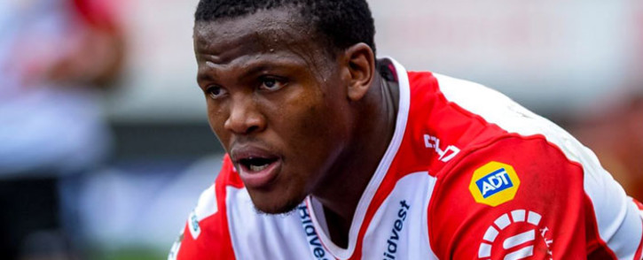 Lions loose-forward Hacjivah Dayimani. Picture: @LionsRugbyCo/Twitter