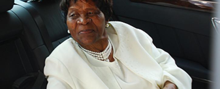 FILE: Mama Albertina Sisulu on her 92nd birthday. Picture: EWN