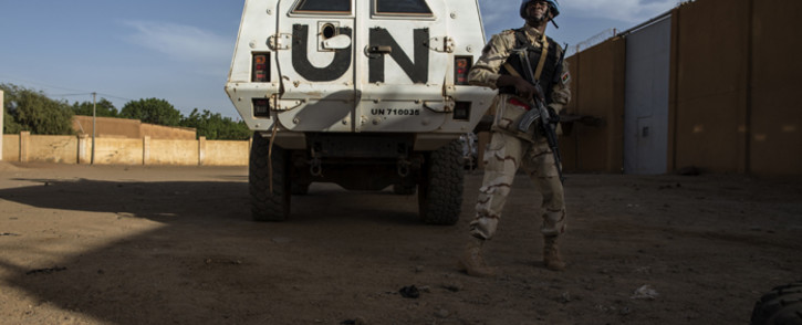FILE: A Malian officer conduct daily joint patrols in the streets of Gao, Mali. Picture: United Nations Photo.