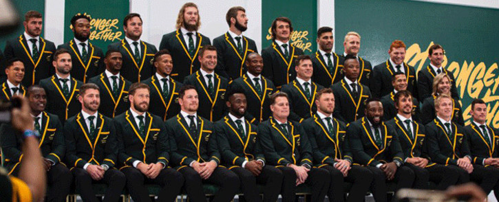 The 31-man Springboks squad going the Rugby World Cup 2019 in Japan. Picture: Kayleen Morgan/EWN.