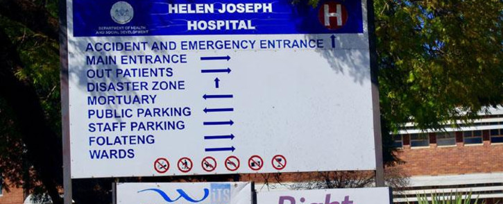 Helen Joseph Hospital. Picture: Facebook