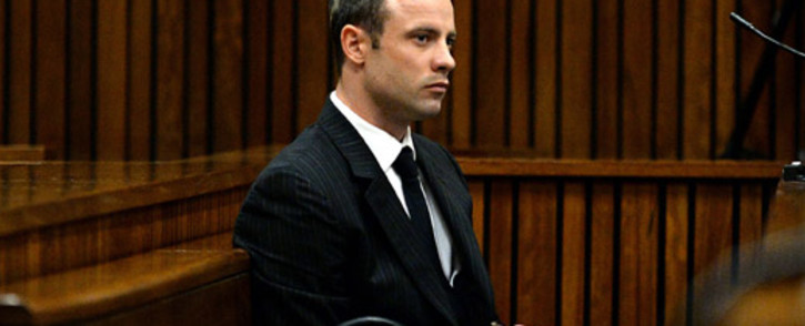 Oscar Pistorius at the High Court in Pretoria on 10 March 2014. Picture: Pool.