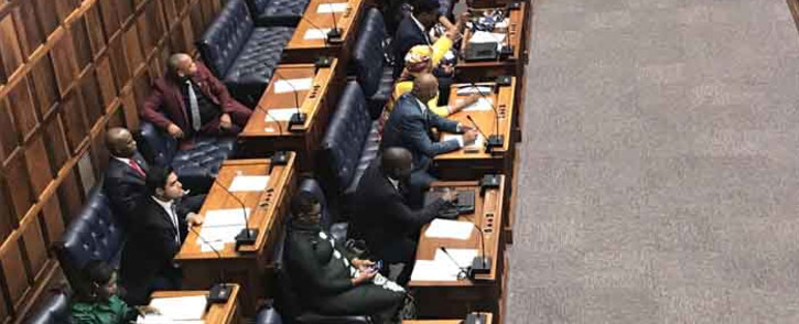 FILE: Politicians seated at the Western Cape legislature ahead of the swearing-in of MPLs in Cape Town on 8 May. Picture: Monique Mortlock/EWN.