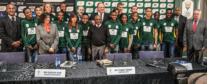 Team SA ready to bring back the gold at the Rio Olympics. Picture: Kgothatso Mogale/EWN