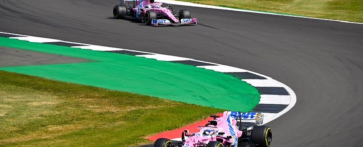 Racing Point's Canadian driver Lance Stroll during the F1 70th Anniversary Grand Prix at Silverstone on 9 August 2020 in Northampton. The race commemorates the 70th anniversary of the inaugural world championship race, held at Silverstone in 1950. Picture: @RacingPointF1/Twitter.