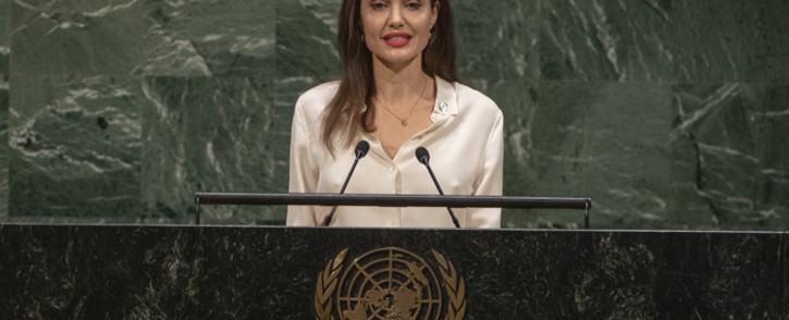 Special Envoy of the United Nations High Commissioner for Refugees Angelina Jolie. Picture: United Nations Photo.