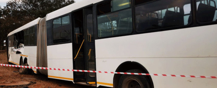 FILE: Two people in Limpopo have been confirmed dead and 81 others have been injured in a collision involving a bus and two other vehicles. PIcture: ER24