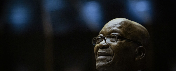 Former President Jacob Zuma at the Pietermaritzburg on 23 May 2019. Picture: Sethembiso Zulu/EWN.