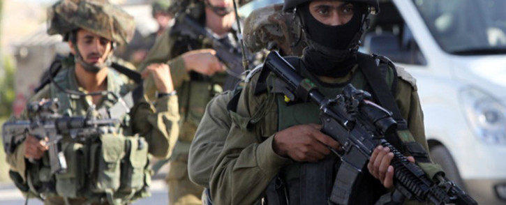 The army says more than 150 Palestinians have been arrested in the search for the three youngsters who were snatched from the Gush Etzion settlement bloc in the southern West Bank on June 12, with Israel pointing the finger at Hamas. Picture: AFP.