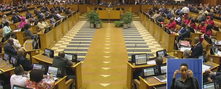 MPs stit in the House. Picture: YouTube