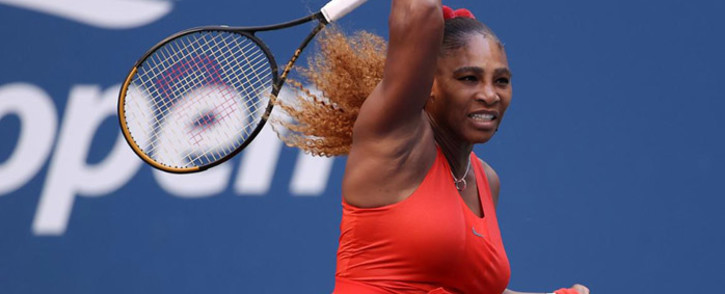 Serena Williams at the US Open on 7 September 2020. Picture: Twitter/@usopen