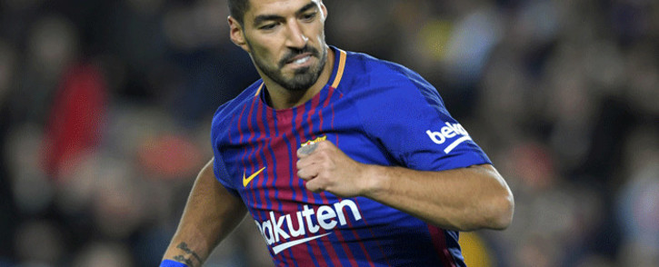 Former Barcelona forward Luis Suarez. Picture: AFP.