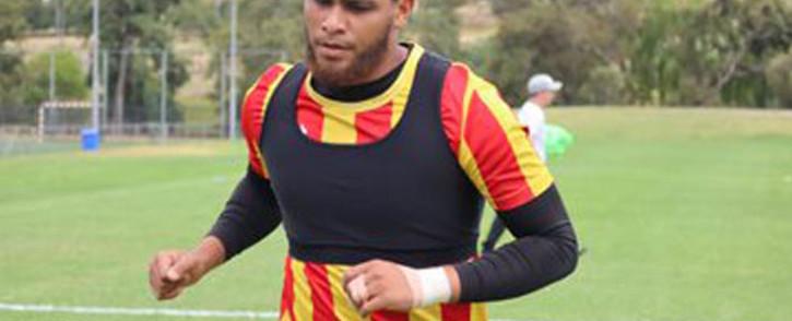 Waseem Isaacs. Picture. @StellenboschFC/Twitter
