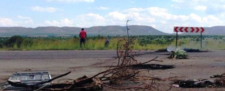FILE: The site of a service delivery protest in Mothutlung where two protesters were shot dead, allegedly by police, in January 2014. Picture: Lesego Ngobeni/EWN