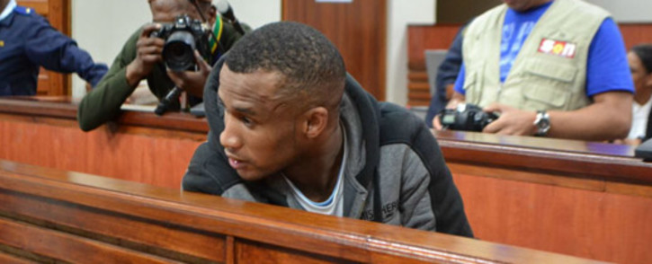 Johannes Kana during his sentencing in Swellendam High Court on 1 November 2013. Picture: Renee de Villiers/EWN.