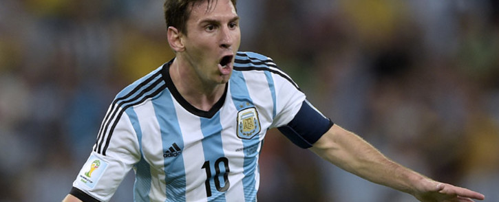 Argentina's forward and captain Lionel Messi. Picture: AFP.