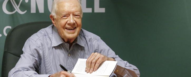 FILE: Former US President Jimmy Carter. Picture: AFP