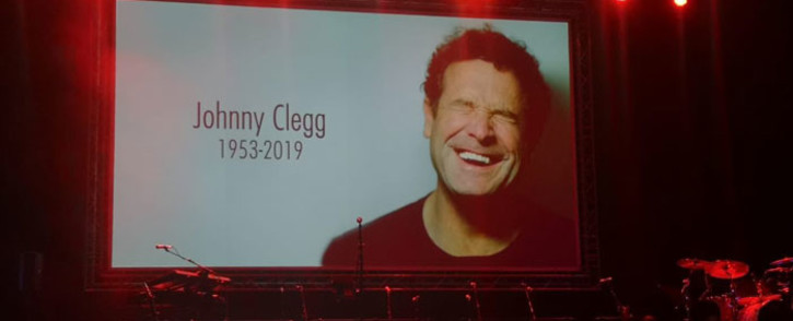 The memorial service for late music legend Johnny Clegg at the Sandton Convention Centre on 26 July 2019. Picture: Thando Kubheka/EWN