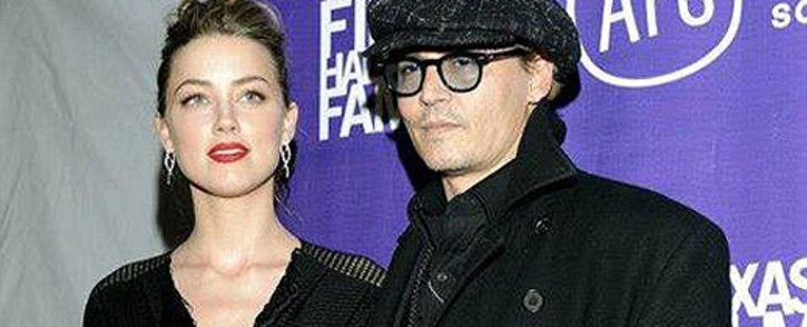Johnny Depp and Amber Heard. Picture: Facebook.
