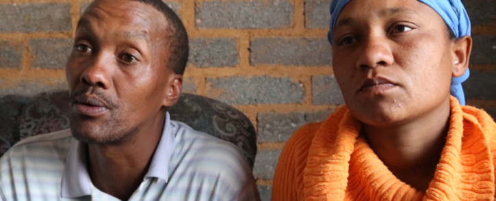 FILE: Cuburne van Wyk's parents. Picture: EWN.