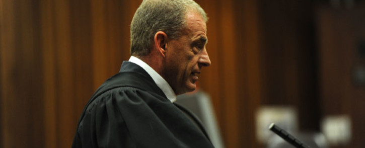 Prosecutor Gerrie Nel is seen during the court appearance of Oscar Pistorius in Pretoria on 13 October 2014. Picture: Pool