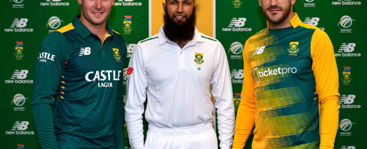 The Proteas have launched their new kit with new apparel and footwear sponsor New Balance. Picture: CSA.