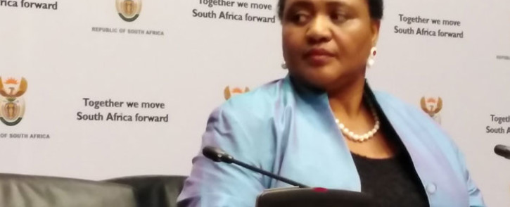 Agriculture, Rural Development and Land Reform Minister Thoko Didiza. Picture: @DRDLR_online/Twitter