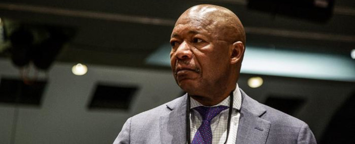 Former Public Investment Corporation (PIC) CEO Dan Matjila appearing at the commission of inquiry into the PIC. Picture: Kayleen Morgan/EWN