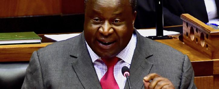 FILE: Finance Minister Tito Mboweni. Picture: GCIS