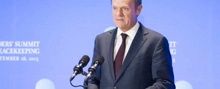 FILE: European Union Council President Donald Tusk. Picture: United Nations Photo