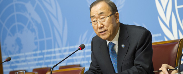 United Nations Secretary-General Ban Ki-moon. Picture: United Nations Photo.