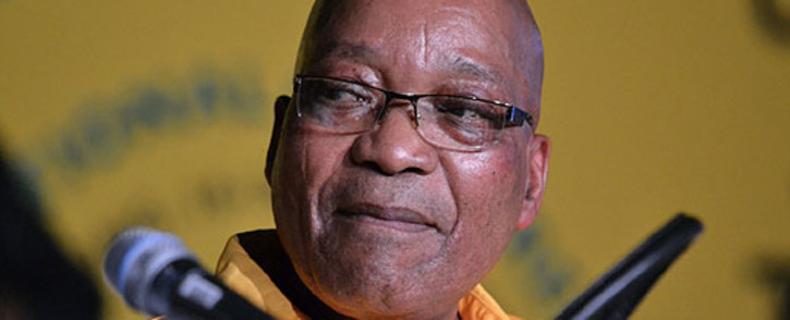 President Jacob Zuma. Picture: Aletta Gardner/EWN.