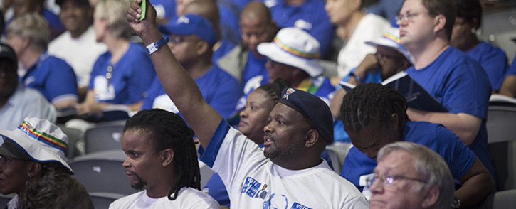 FILE: Democratic Alliance members during the voting session on policies on at the party's elective congress 8 April 2018. Picture: EWN