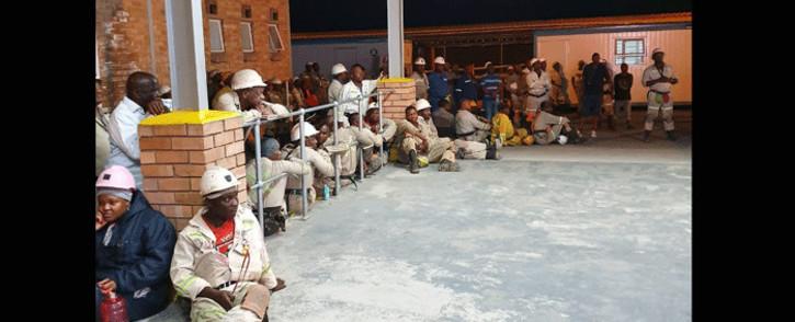 FILE: Modikwa Mine workers. Picture: Modikwa Platinum Mine/Facebook.