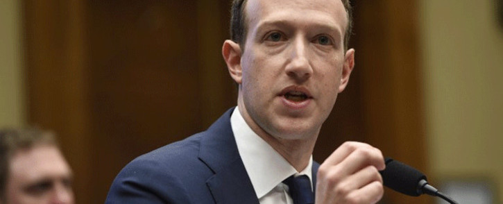 FILE: Facebook CEO and founder Mark Zuckerberg.Picture: AFP