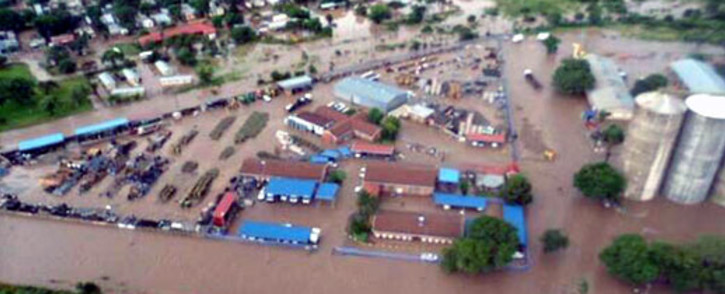 Limpopo is one of the worst affected by this month's heavy rainfall with more than 1,000 flooded homes last week. Picture via twitter @Francois_BPH