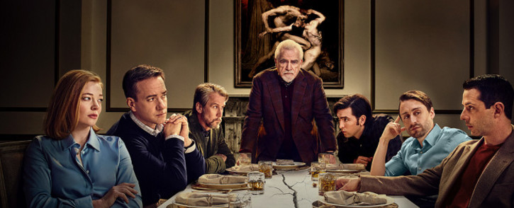 Among the frontrunners for best drama at the 72nd Primetime Emmy Awards are HBO's darkly humorous 'Succession', which centres on a powerful media family's wrangling for control of its company. Picture: www.hbo.com/succession